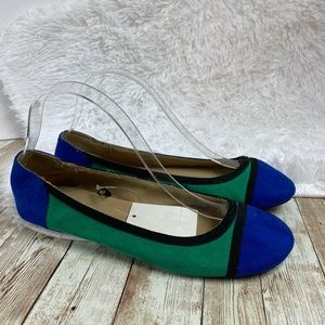 Cato Shoes - Cato Color Block Ballet Flats